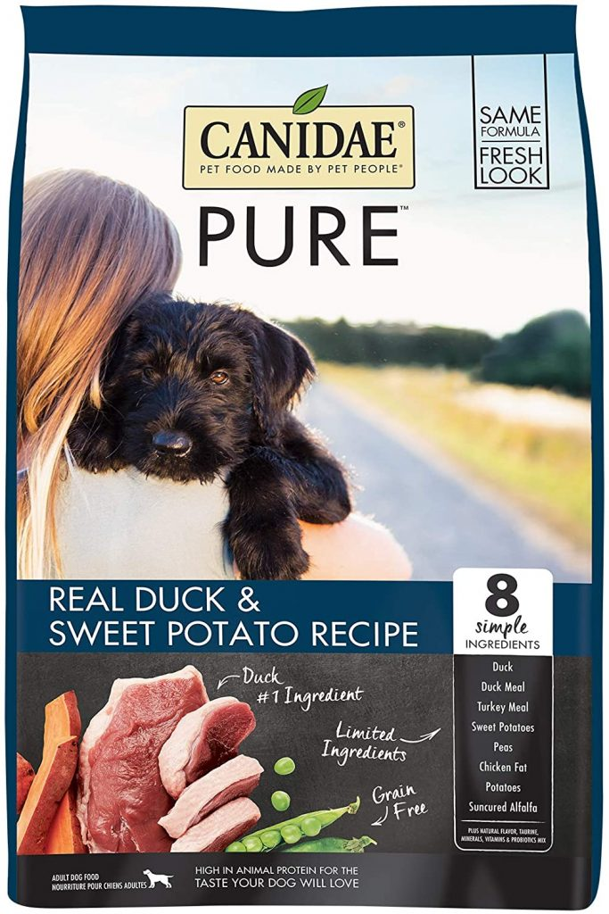 CANIDAE PURE Limited Ingredient Dry Dog Food