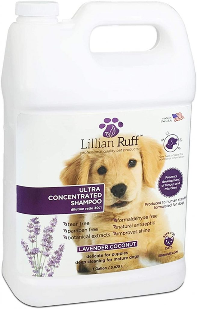 Lilian Ruff Professional Dog Shampoo
