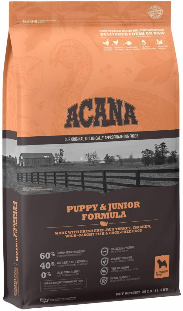ACANA Heritage Puppy Dry Dog Food - TheDoodleGuide.com