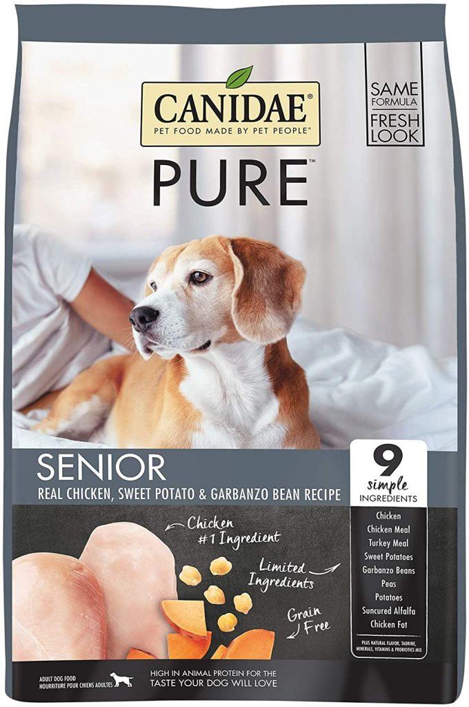 Canidae Pure Senior Grain Free Premium Dry Dog Food - TheDoodleGuide.com