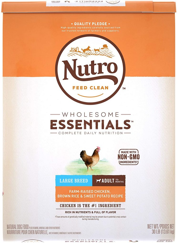 Nutro Wholesome Essentials Large Breed Adult Dry Dog Food - TheDoodleGuide.com