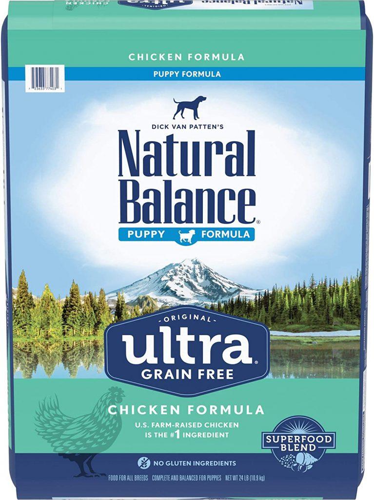 Natural Balance Ultra Original Dry Puppy Food for Goldendoodles - TheDoodleGuide.com