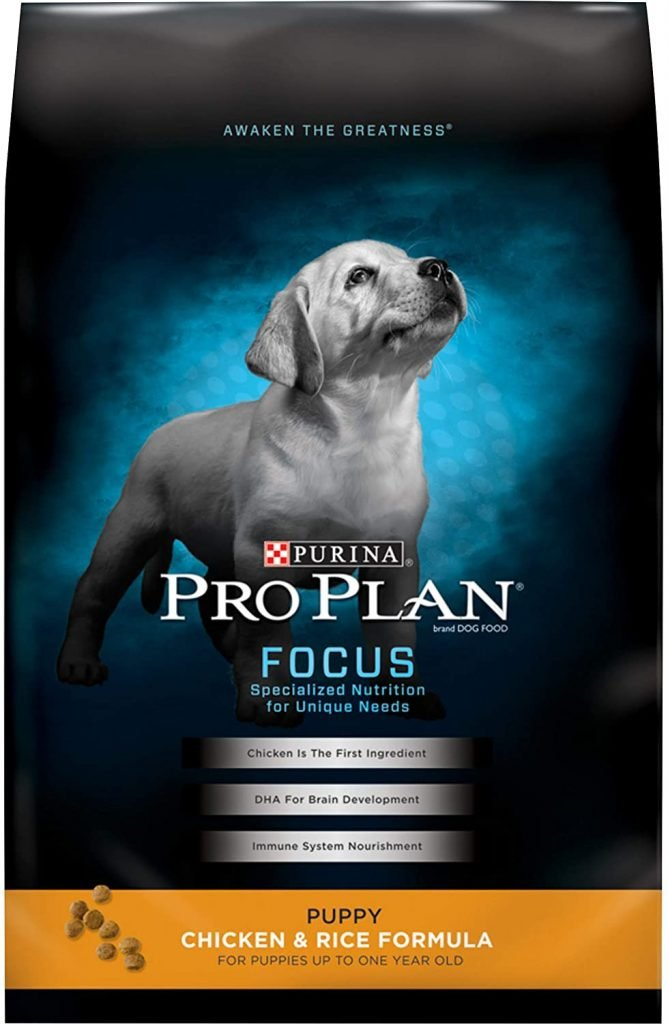 Purina Pro Plan Dry Kibble Puppy Food for Goldendoodles - TheDoodleGuide.om