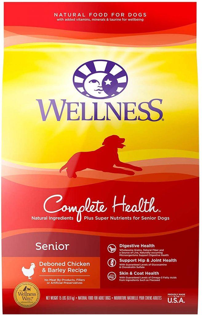 Wellness Complete Health Natural Dry Senior Dog Food - TheDoodleGuide.com
