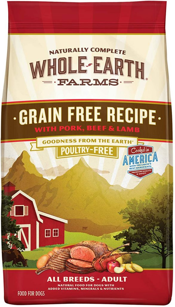 Whole Earth Farms Grain-Free Natural Dry Dog Food - TheDoodleGuide.com