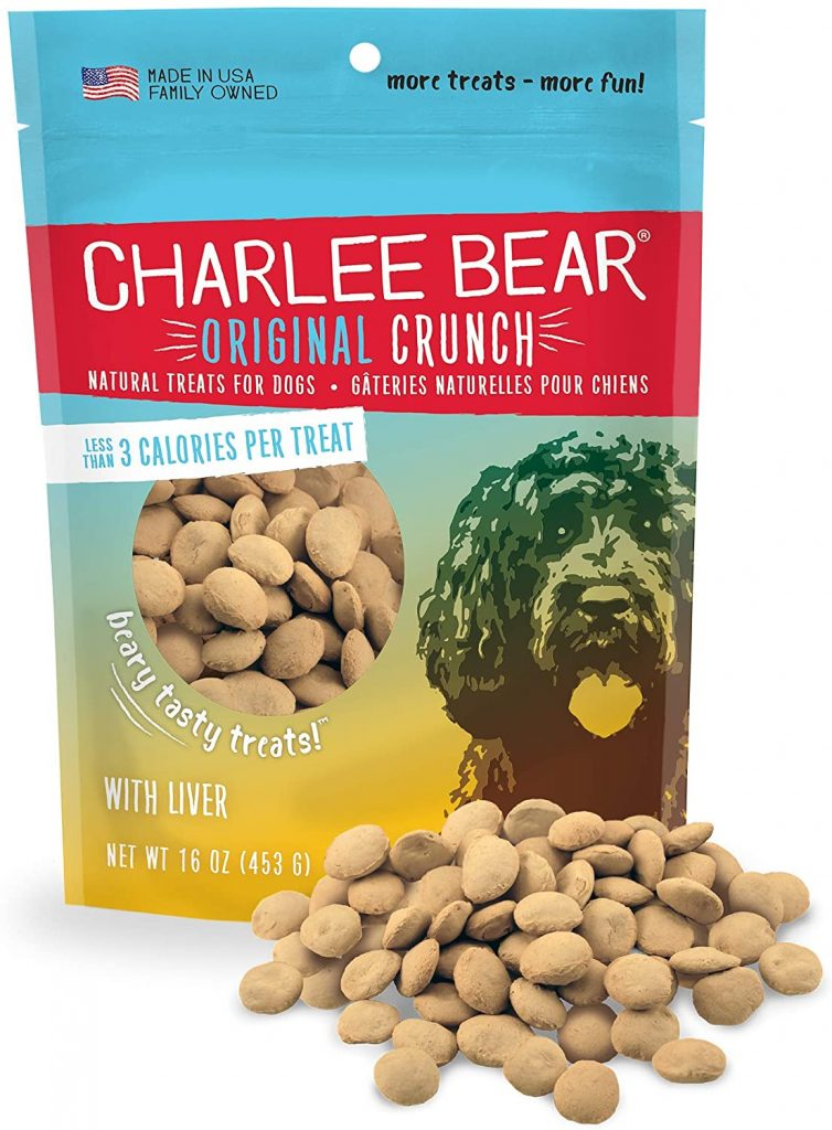 Charlee Bear Dog Treats - best treats for goldendoodles - TheDoodleGuide.com