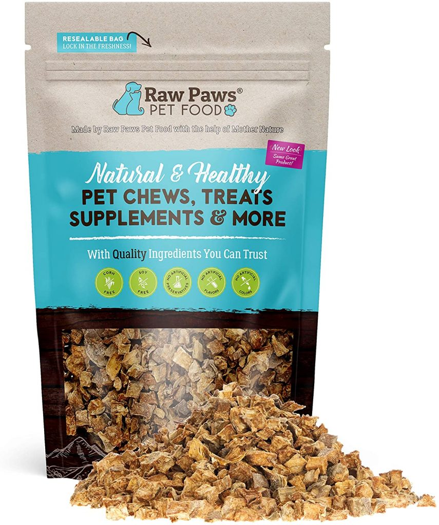 Raw Paws Pet Grain-Free Sweet Potato Training Treats - best treats for goldendoodles - TheDoodleGuide.com