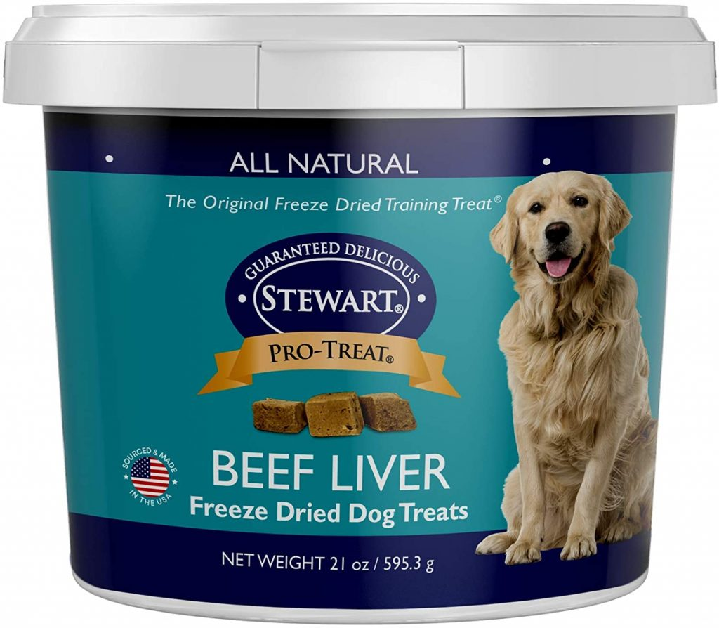 Stewart Freeze Dried Treats - best treats for goldendoodles - TheDoodleGuide.com