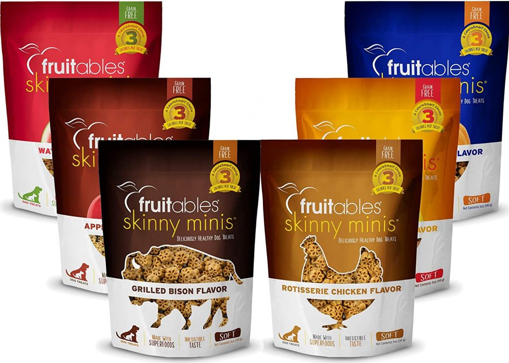 Fruitables Skinny Minis - best treats for goldendoodles - TheDoodleGuide.com