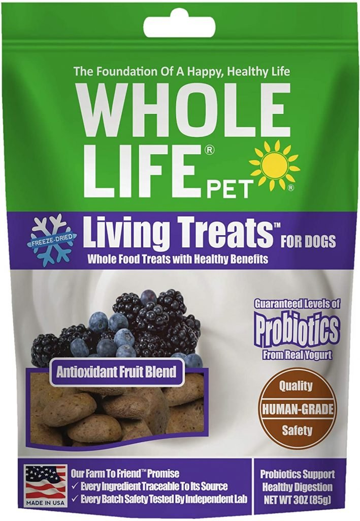 Whole Life Pet Antioxidant Dog Treats - best treats for goldendoodles - TheDoodleGuide.com