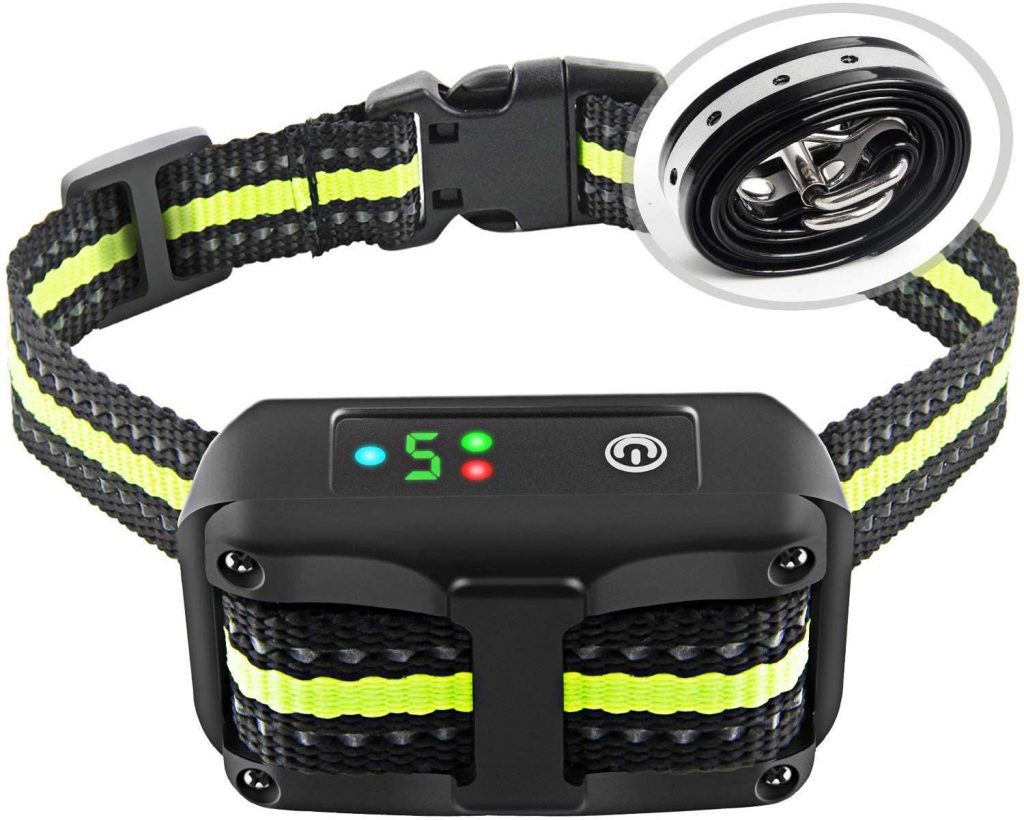 authen rechargeable shock collar