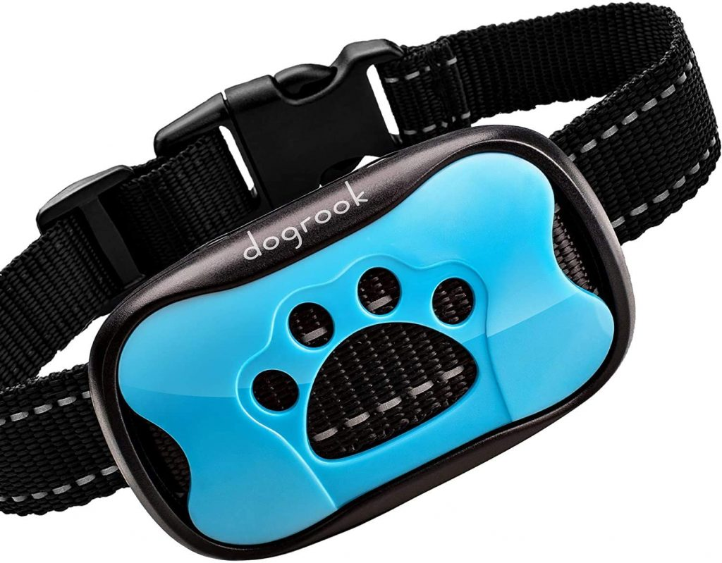 dogrook rechargeable dog bark collar
