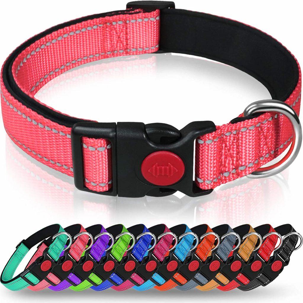 taglory reflective dog collar
