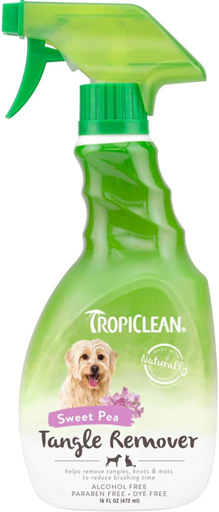 Tropiclean tangle remover - TheDoodleGuide.com